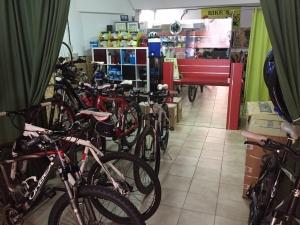 Visita nuestra amplia exposición de bicis